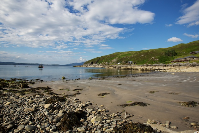 and a sandy beech as well!  Click on this image to go to the Doune website and more excellent images of the area and the accommodation.