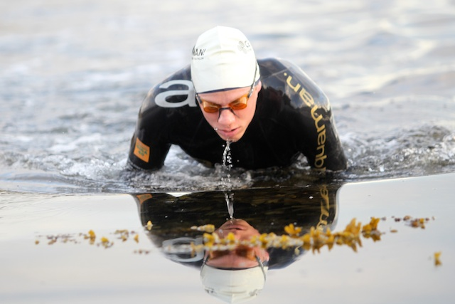 Fastest swim - Johan Nykvist [2012 Celtman]
