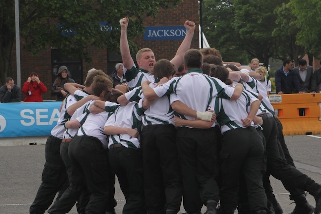 Junior Leaders Field Gun 2012 - Click to Enter
