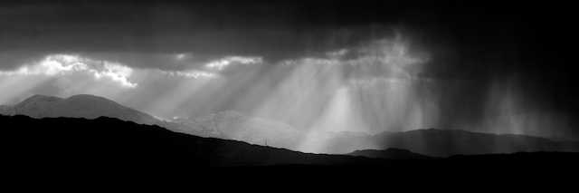 Shades of Dark and Light over Morar