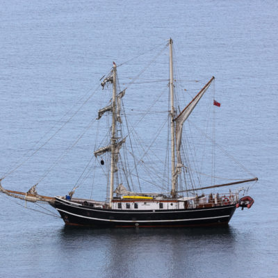 Lady of Avenel Escorted from Sleat by Dolphin Guard