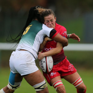 South Africa Prove Too Strong On Excellent Day for Army Women's Rugby
