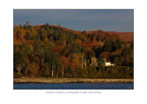 Autumn Colours at Armadale Castle, Isle of Skye