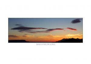 Sunset at Aird, Isle of Skye