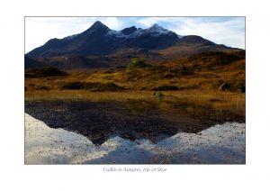 Cuillin in Autumn, Isle of Skye