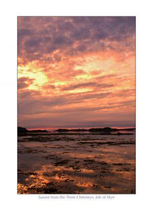 Sunset from the Three Chimneys, Isle of Skye