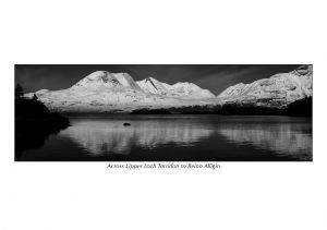 Across Upper Loch Torridon to Beinn Alligin