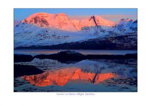 Sunrise on Beinn Alligin, Torridon