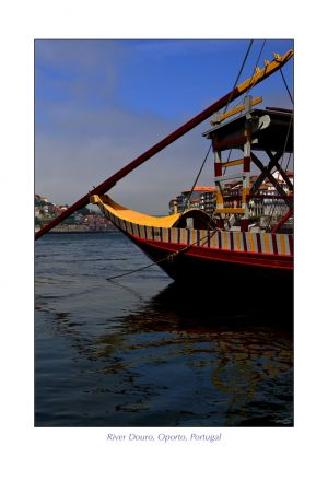 Boat on Douro River